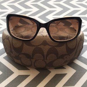 Coach sunglasses w/ matching case